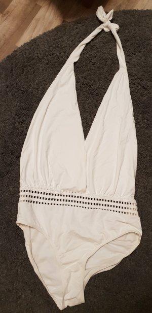 weißer Badeanzug