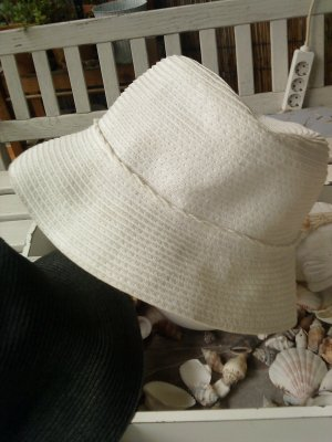 Augusto Sombrero de ala ancha blanco