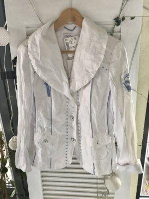 Weißer Blazer / dünne Jacke (Größe 38) *neu*