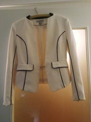 H&M Veste de smoking blanc-noir