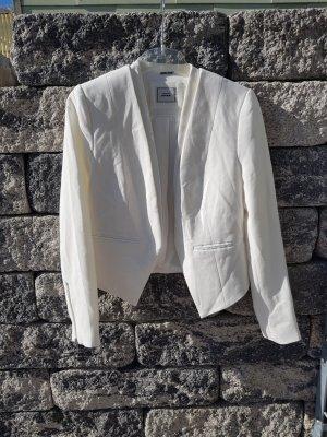 weißer Blazer Größe M von Pimkie