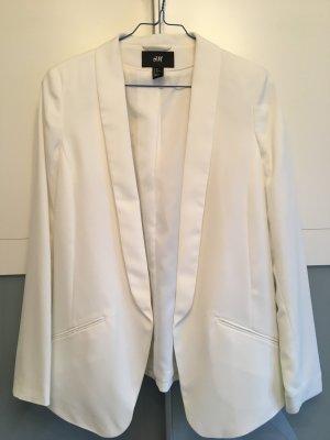 weißer Blazer von H&H in Gr 40