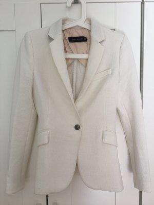 Weißer Blazer von Zara Gr XS