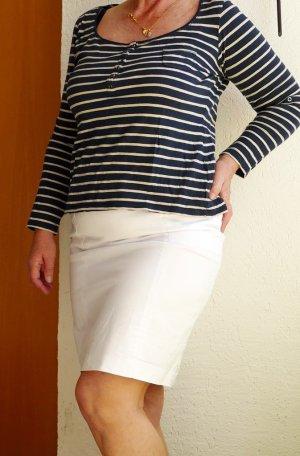 H&M Pencil Skirt white