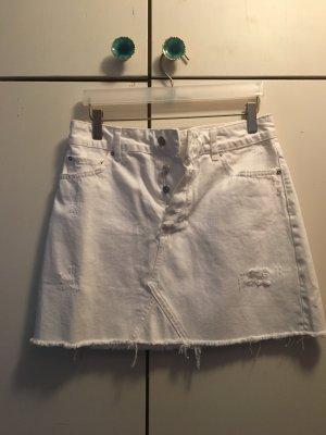 Zara Spijkerrok wit