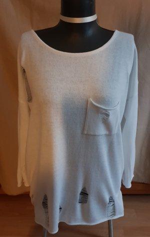 Slip-over Blouse white cotton