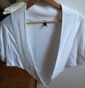 H&M Divided Bolero white