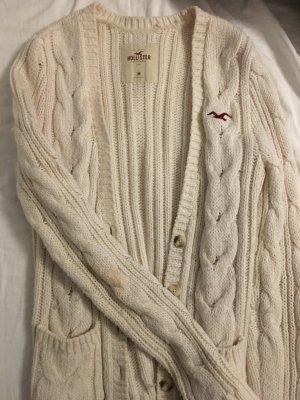 Weißer Cardigan