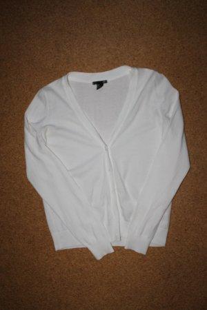 Weißer Cardigan von H&M