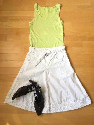 H&M Jupe cargo blanc