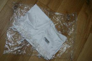 weißer/cremefarbener PASHMINA Schal - NEU in Originalverpackung