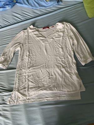 s.Oliver V-Neck Sweater white
