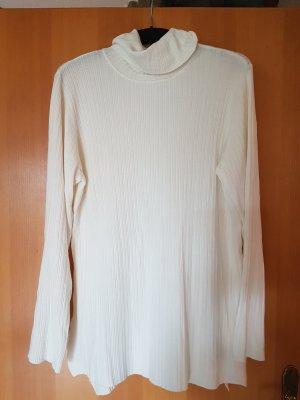 weisser feinfädriger Viskose Pulli von Zara#oversized look D 40/D42