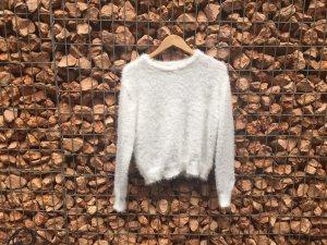 H&M Divided Christmasjumper white polyester