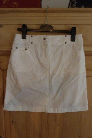 Weißer gerader Sommerrock von Esprit