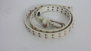Belt white-gold-colored
