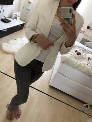 H&M Lange blazer wit