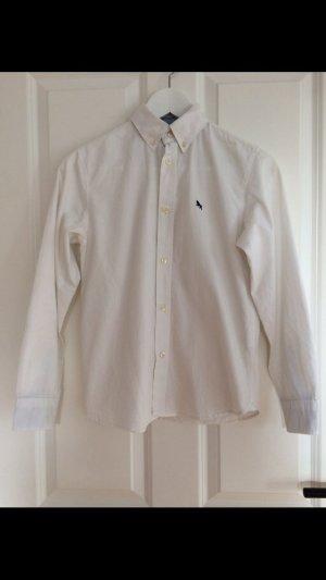 Weißer H&M Hemd in Größe 152