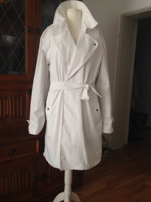 Burberry London Trenchcoat blanc coton