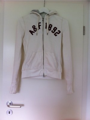 Weißer Hoodie von A&F
