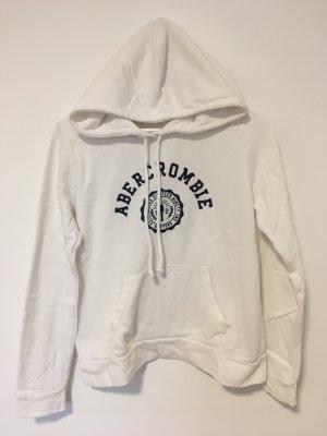 Weißer Hoodie von Abercrombie & Fitch