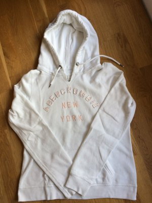 Weißer Hoodie von Abercrombie & Fitch *reduziert*