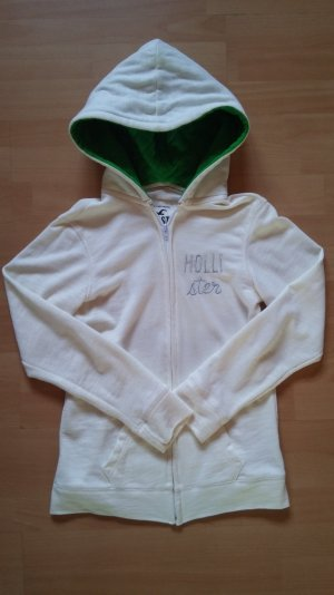 Weißer Hoodie von Hollister, Größe M