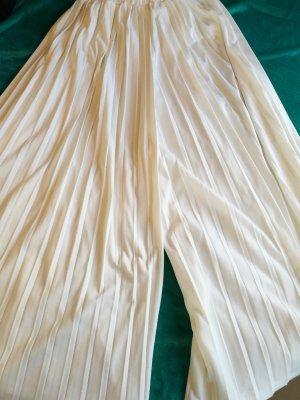 Weißer Hosenrock Sommerrock Falten