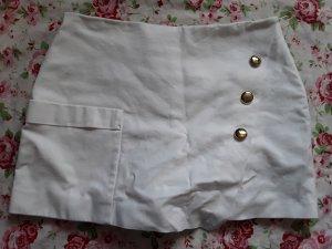 Zara Jupes-culottes blanc