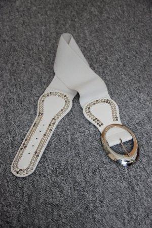 Cinturón de cadera blanco