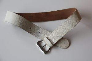 Hugo Boss Belt white leather