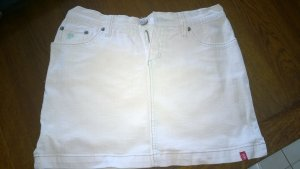Weißer Jeans Minirock von EDC