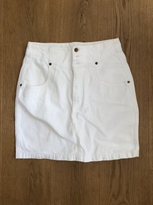 Oilily Gonna di jeans bianco