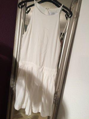Weißer Jumpsuit aus Viskose