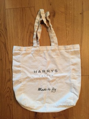 Weisser Jutebeutel von Harrys of London NEU