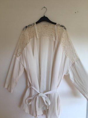 H&M Divided Kimono Blouse white