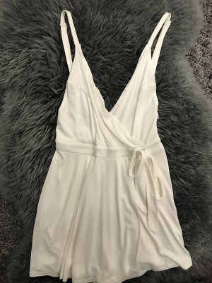 Urban Outfitters Robe portefeuille blanc
