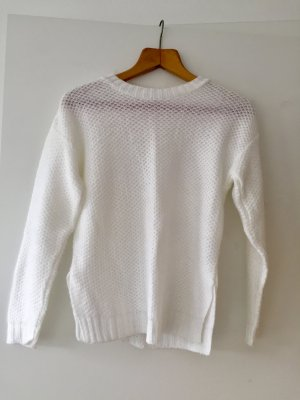 Asos Petite Crewneck Sweater white