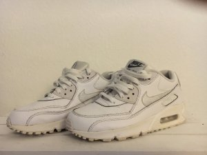 Weißer Leder Nike Air Max 90