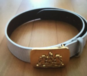 Ralph Lauren Leather Belt white leather