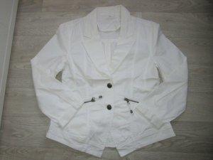 Blazer corto blanco