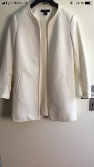 H&M Short Coat white
