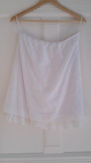 Weißer, leichter Sommerrock in Größe M