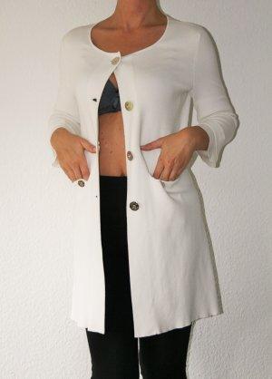 Weißer Long-Blazer , mantel Cardigan Strickjacke von Marella