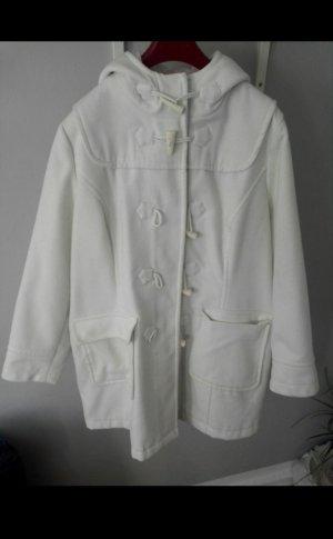 weißer Mantel