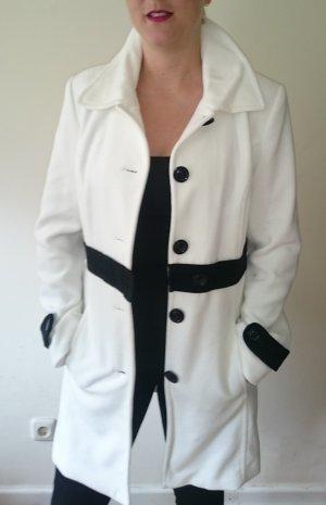 Weißer Mantel von Melrose I Übergangsjacke