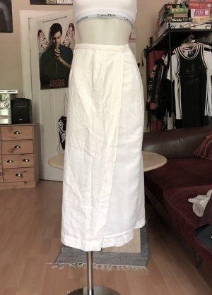 Jupe longue blanc-crème