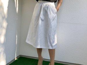Zara Midi-rok wit