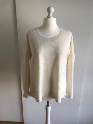 COS Maglione oversize bianco sporco Lana
