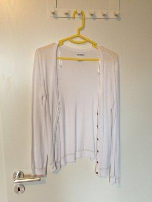 Weißer Pull & Bear Cardigan NEU ohne Etikett
